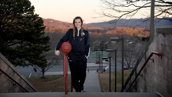 Owen High School junior Chesney Gardner is a star on