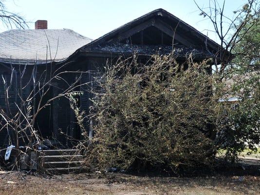 Polk Street house fire