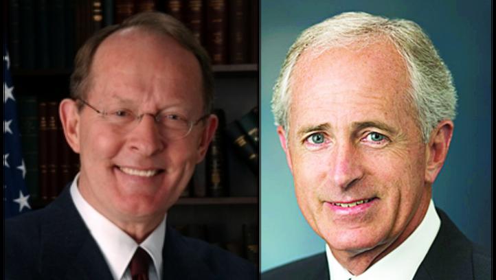 Sens. Alexander, Corker back bill to strengthen federal background checks on gun buyers