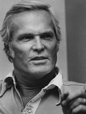 Ty Hardin is seen in 1980.