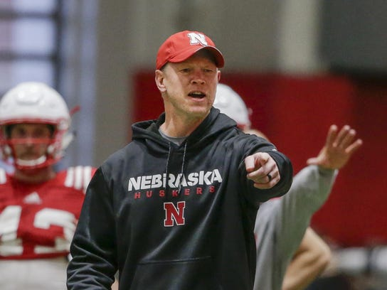 Nebraska head coach Scott Frost