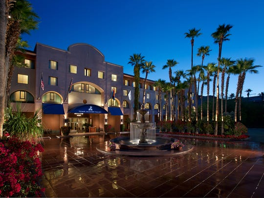 Tempe Mission Palms Hotel | 40 percent off best available rates. Sale dates: Nov. 27-30. Travel dates: Through June 30. Details: missionpalms.com.