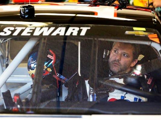 NASCAR Daytona Stewart Returns Auto Racing