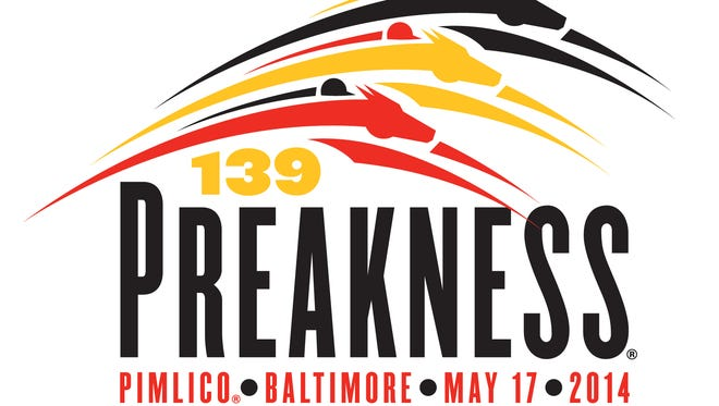 2014 Preakness Stakes logo.