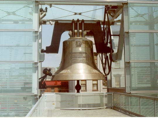The Verdin Company built Newport's World Peace Bell,