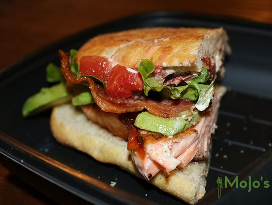 A new take on a BLT by the Olsons at MoJo's Pasta House
