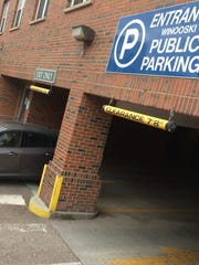 A city-owned parking garage in downtown Winooski is