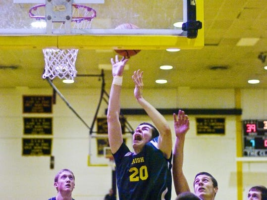 Michael Sperring (12.6 ppg) has helped York Catholic win seven in a row.