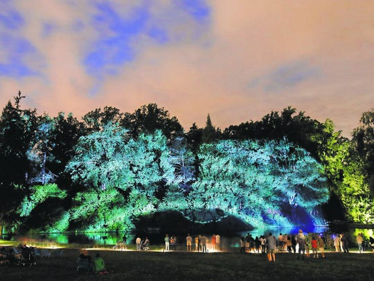 "After a successful debut this year, exhibit ""Nightscape: A Light and Sound Experience by Klip Collective"" returns to Longwood Gardens in August."