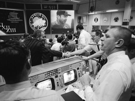 """NASA flight director Gene Kranz oversaw flight control team when Neil Armstrong stepped onto the moon and when Apollo 13 commander Jim Lovell said """"Houston we have a problem."""""""