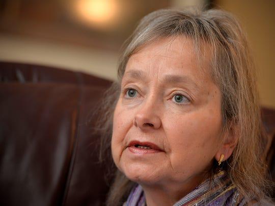 Joan Willenbring has battled ovarian cancer for 14