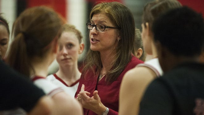 Coach Ute Otley and the Champlain Valley Union High School girls basketball team wrapped up a third straight perfect season in March.