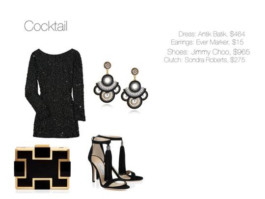 Dress Code: Cocktail (women)