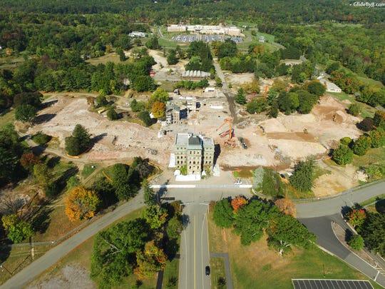 Greystone demolition Oct. 8, 2015