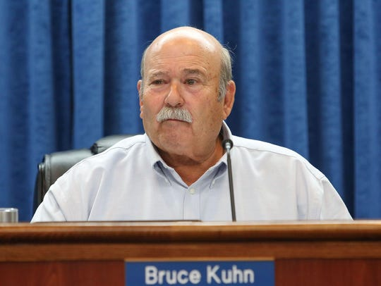 Bruce Kuhn of the Imperial Irrigation District's board