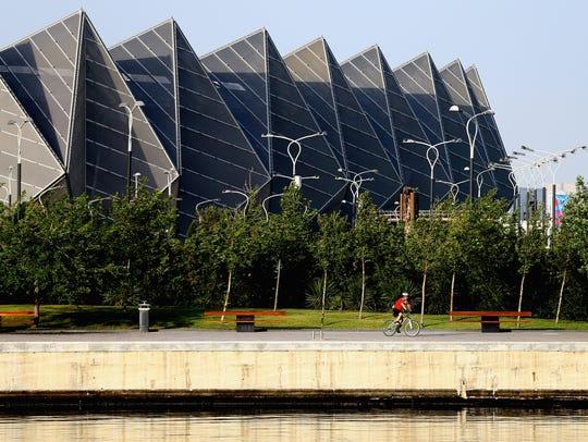 Crystall Hall is an indoor arena in Baku, Azerbaijan.