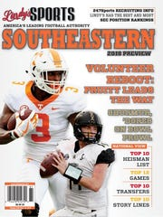 Lindy's Sports 2018 Southeastern Preview magazine