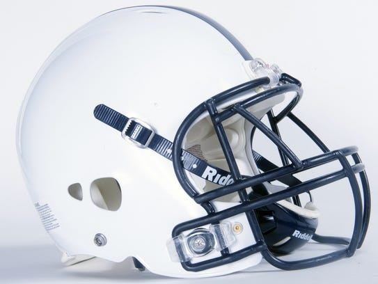 West York Bulldogs football helmet.