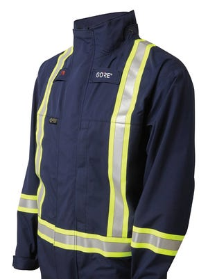 W.. L. Gore has launched a new line of flame-retardant outerwear.