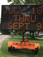 A road sign on Malletts Bay Avenue in Colchester indicates