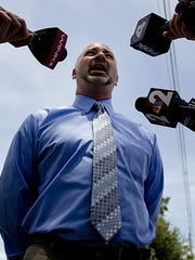 """""""The reason we filed the lawsuit is that we became aware that there was a prior complaint against the same minister (Robert Little),"""" said Adam Horowitz, attorney for a 13-year-old boy and his mother who are suing the Diocese of Venice in Florida."""