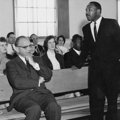 Out of Our Past: Dr. Martin Luther King Jr. spoke at Earlham College