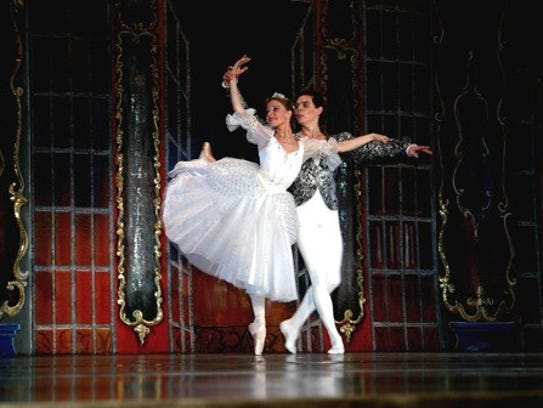 The ballet tells the story of a young woman forced