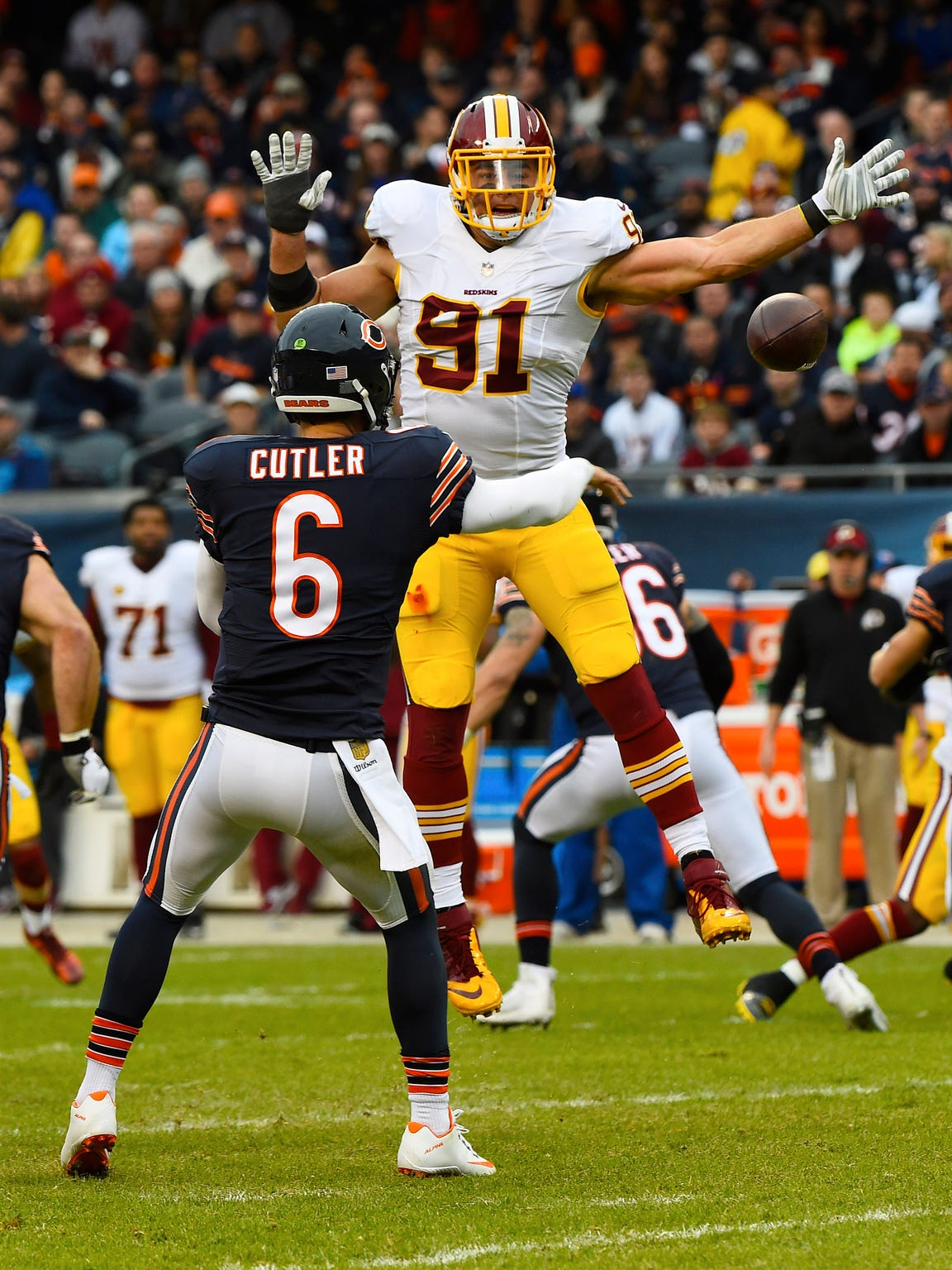 Washington Redskins outside linebacker Ryan Kerrigan