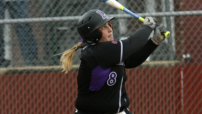 Danielle Duman has been a key hitter for the Linfield softball team.