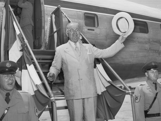 Harry Truman in Spf 1948