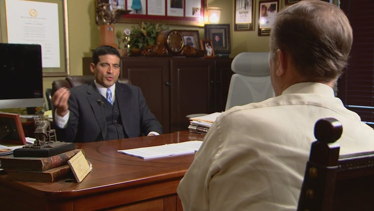 In-coming Bexar County District Attorney Nico LaHood