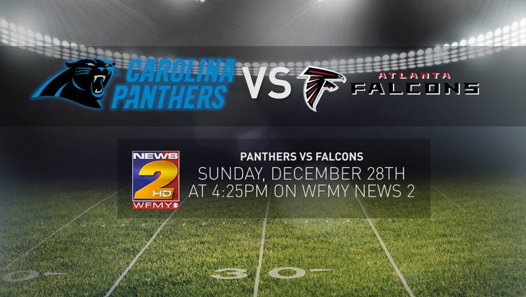 Panthers are traveling to Atlanta to take on the Falcons
