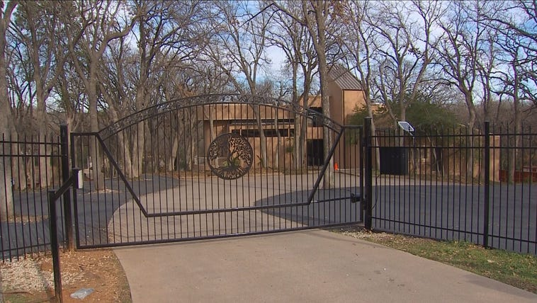 An alleged swingers' club in an upscale Arlington neighborhood