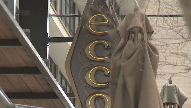 Ecco restaurant in midtown Atlanta