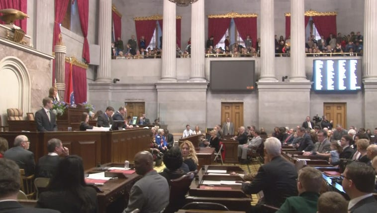 Tennessee House of Representatives in Nashville