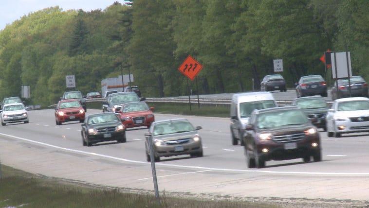 Cars on I-95.