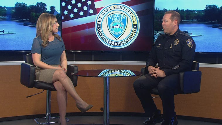 Chief Jones discusses wearing a police badge in today's