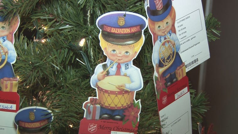 The Salvation Army has hundreds of kids whose Angel