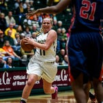CSU's Gritt Ryder, shown in a game earlier this season, led all scorers with 22 points in an 85-76 win at San Jose State Wednesday night.