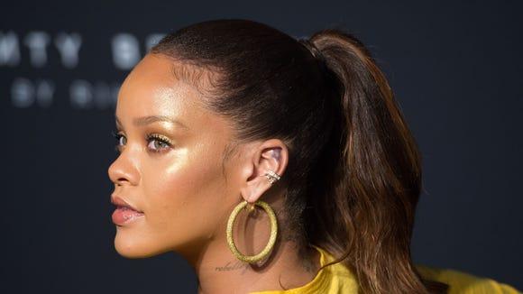 Singer Rihanna blasted Snapchat over an advertisement that made light of an assault by her ex boyfriend.