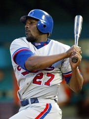 Vladimir Guerrero is one of the most dominant players of his era with his .318 career batting average and .553 slugging percentage.
