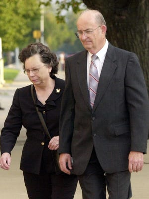 """A federal judge has refused to free Arlan Kaufman, who enslaved mentally ill patients in Kansas and forced them to work naked and engage in sexual acts, while billing the government and their families for therapy. U.S. District Judge J. Thomas Marten cited the """"particularly heinous nature"""" of the abusive treatment of mentally ill patients in a ruling Tuesday."""