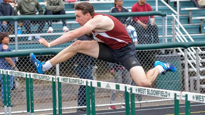 Seaholm senior Ben Barton qualified for the Division 1 state track & field meet in three individual events and one relay.