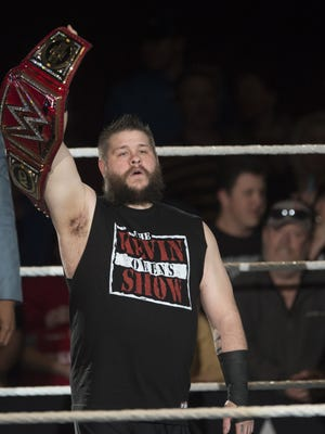 Former WWE RAW universal champion Kevin Owens will defend the United States championship against AJ Styles on May 21.