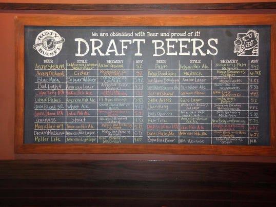 Rusty Draft Beers at Rusty Bucket (1).jpg