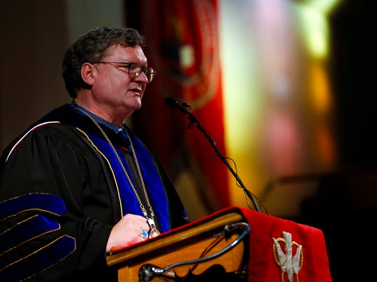 """""""It has been a great 2019,"""" Drury President Tim Cloyd said. The private liberal arts school plans to build on its momentum in 2020."""