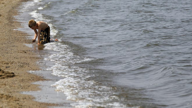 The U.S. Army Corps of Engineers closed two beaches at Saylorville Lake due to a blue-green algae bloom.