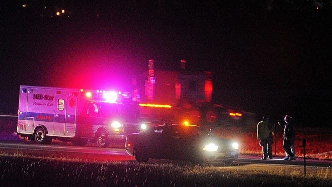 Emergency personnel and law enforcement on scene after reports of a body was found on Interstate 90 on Thursday in Sioux Falls.
