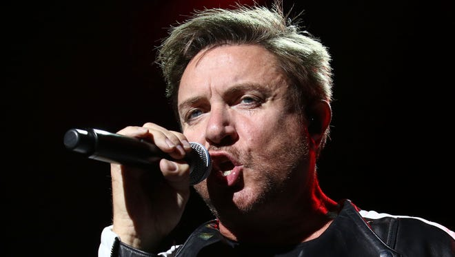 Simon Le Bon of Duran Duran performs in October at Madison Square Garden in New York.