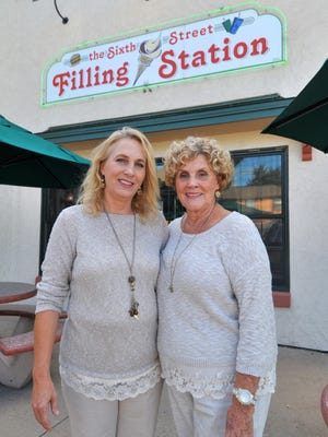 Kim Michels, left, manager, and her mother Jackie Lovretich, co-owner, plan to reopen the Sixth Street Filling Station in Wausau in September.